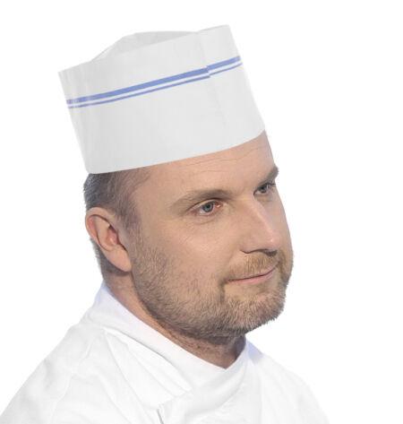 Hendi papír szakács sapka 100db/csomag