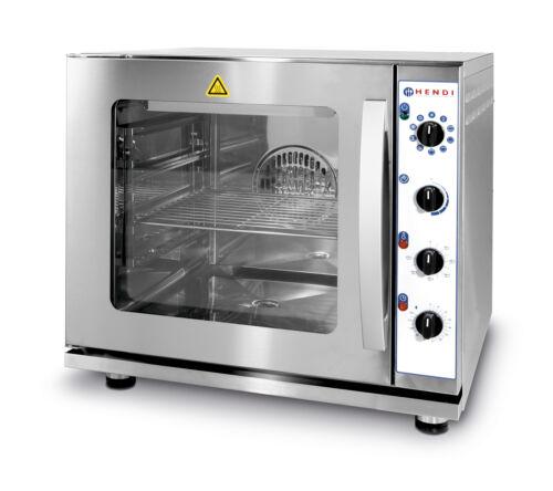 Konvekciós sütő gőzölő és grill funkcióval 2/3GN méretben Hendi 225929